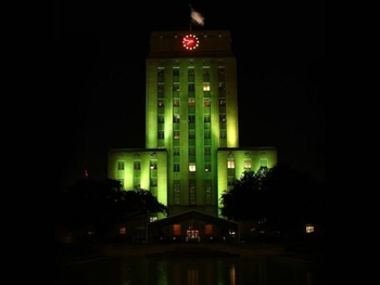 Houston City Hall, Highway Bridges to be illuminated in Green to Nigeria