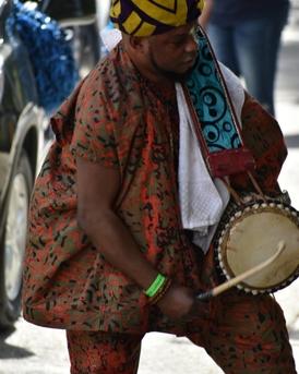 Drummer Egungun