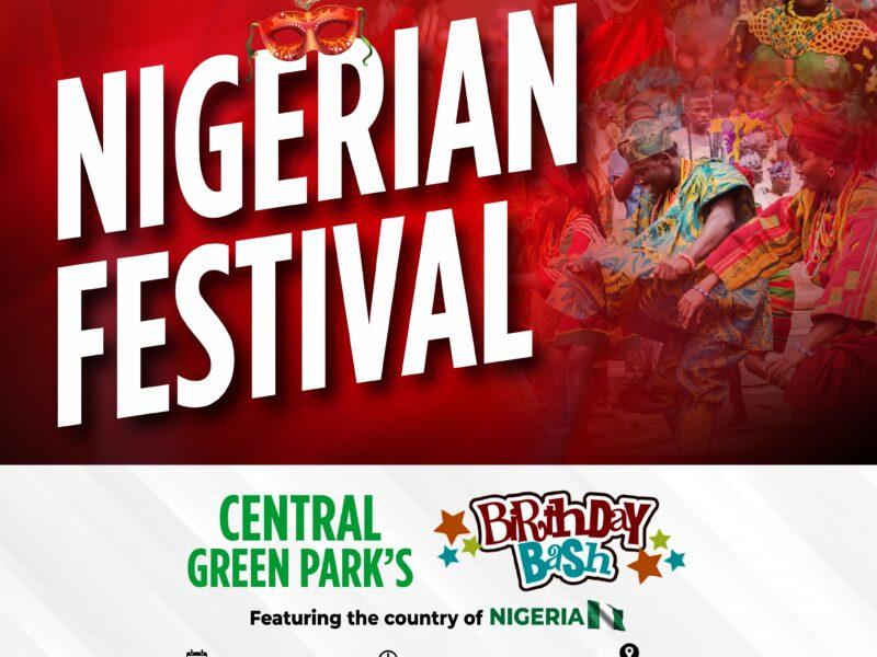 Celebrate Culture at Central Green's Nigeria Festival!